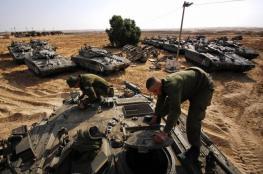 جيش الاحتلال يدفع بتعزيزات عسكرية لحدود غزة