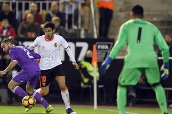 ريال مدريد يسقط أمام فالنسيا