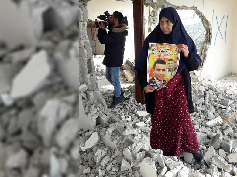 الاحتلال يفرض غرامة كبيرة على والدة الشهيد نعالوة