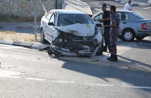إصابة عدد من العمال في حادث سير جنوب الخليل