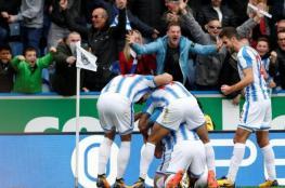 هيديرسفيلد يحرم مانشستر يونايتد من مقعد دوري الأبطال