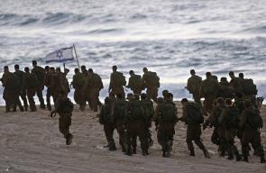شاطئ زيكيم الذي أغلقه جيش الاحتلال عقب تصعيد الليلة
