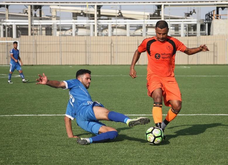 8 مباريات تقام اليوم الأحد في دوري غزة
