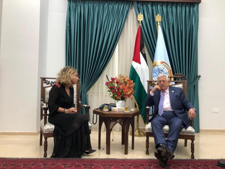 تعقيب الجبهة الشعبية على لقاء عباس بالوفد الإسرائلي برام الله