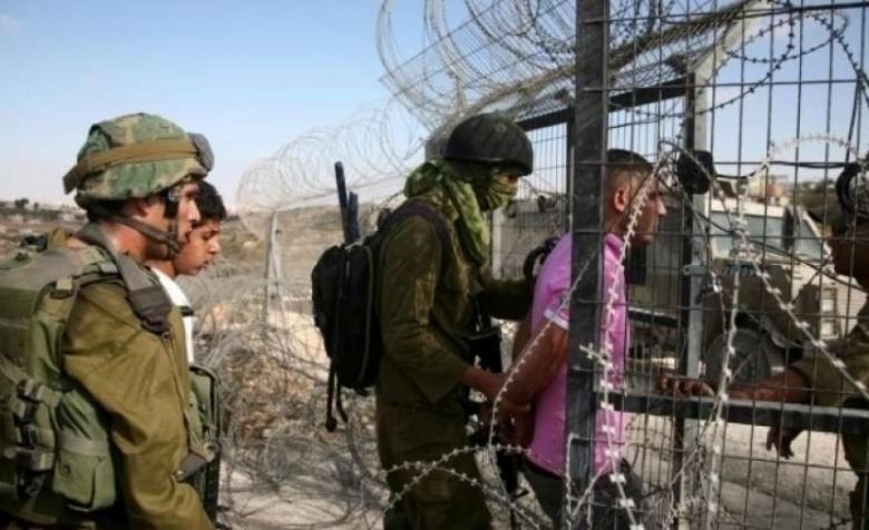 اعتقال فلسطيني تسلل عبر السياج الحدودي جنوب القطاع
