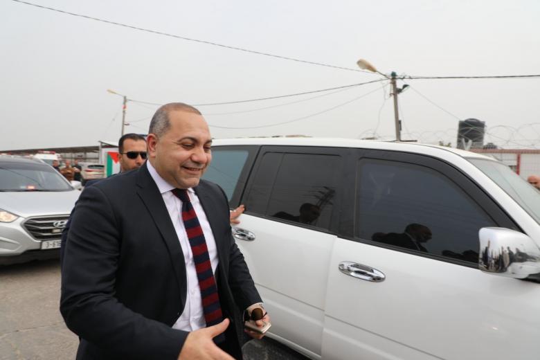 الوفد الأمني المصري يعود إلى غزة قادماً من رام الله