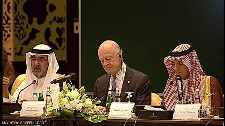"""اجتماع المعارضة السورية لتشكيل """"هيئة جنيف"""""""