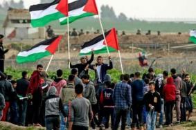 """جماهير قطاع غزة تتجهز لـ """"جمعة لا للتطبيع"""""""