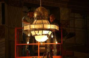 التجهيزات بالمسجد الأقصى لاستقبال رمضان