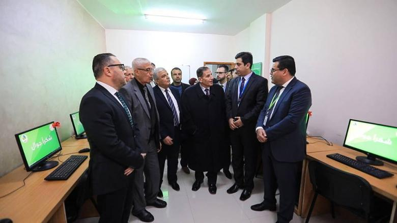 جوال و جامعة غزة يفتتحان مشروع تجهيز مختبر حاسوب غزة