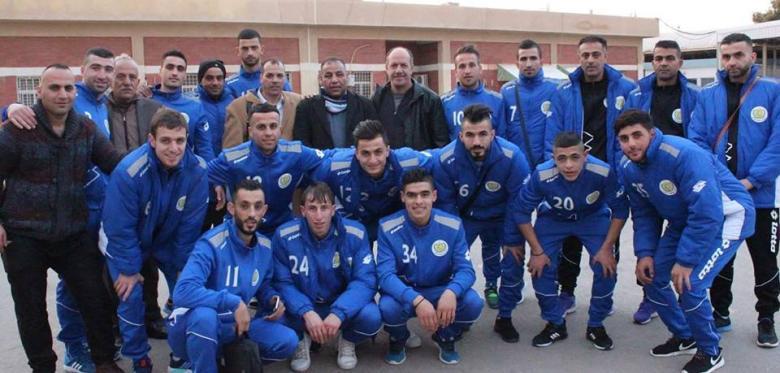 شباب الخليل يواصل تدريباته في الأردن
