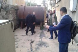بلدية غزة تُنظم 75 جولة كشفية على محال المهن الخطرة