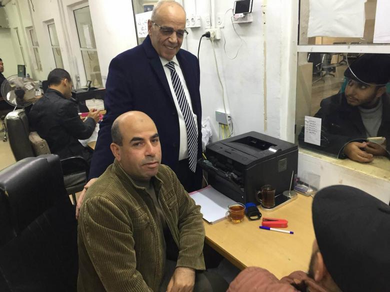 عودة 35 موظفاً لاستلام عملهم بوزارة النقل المواصلات بغزة