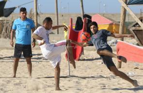 اختتام البطولة الشاطئية للهواة في قطاع غزة