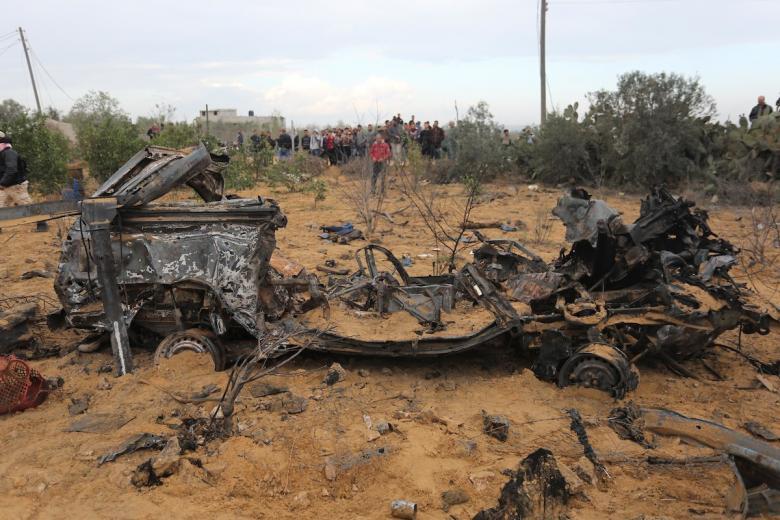 """""""القسام"""" سحب جثة قائد عملية خانيونس الفاشلة"""