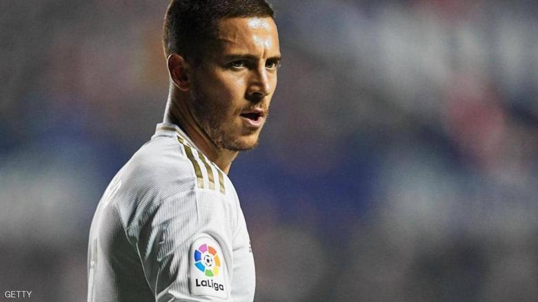 زيدان يزيد الغموض بشأن عودة هازارد إلى ريال مدريد