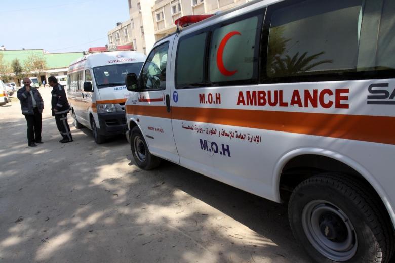وفاة طفلة بحادث سير جنوب القطاع