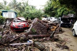 """أكثر من 60 قتيلًا في تسونامي """"بركاني"""" في أندونيسيا"""