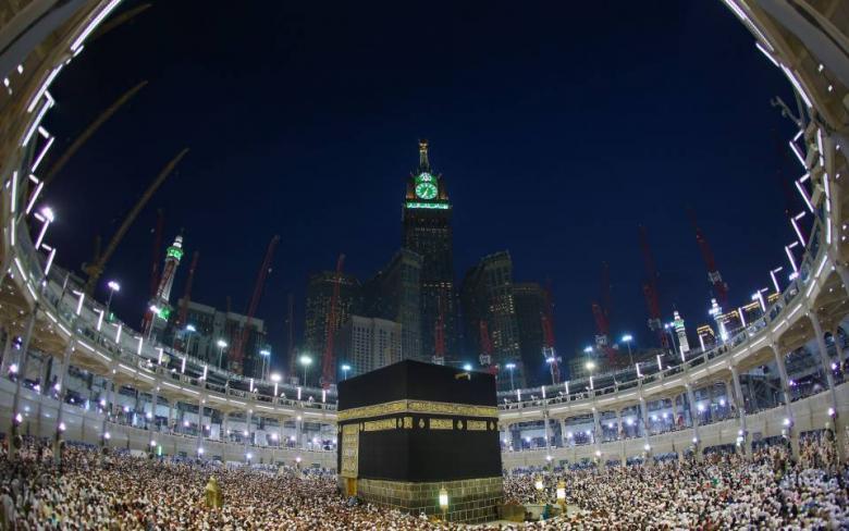 رصد ظاهرة مذهلة في أجواء مكة المكرمة