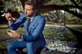 الأزرق يليق بك ..شاهد أجمل 13 بدلة زرقاء لهذا الصيف !