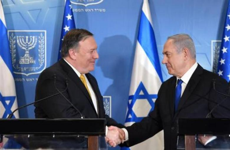 """نتنياهو وبومبيو يتفقان على فرض عقوبات دولية ضد """"حزب الله"""""""