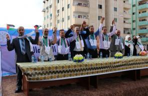 حماس تعلن عن قائمة البناء والتنمية لانتخابات بلدية الزهراء