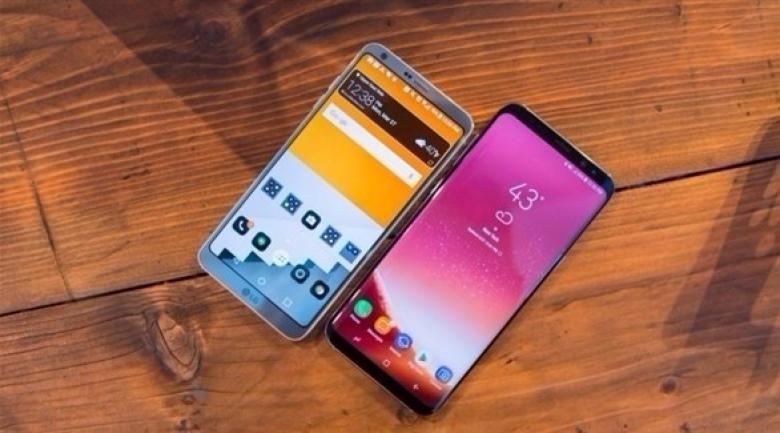 مقارنة بين LG G6 وجالاكسي S8