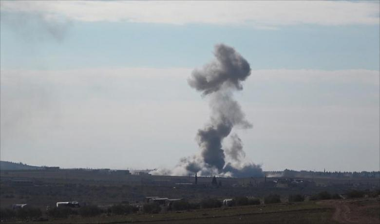 غارات تركية روسية على تنظيم الدولة شمالي سوريا