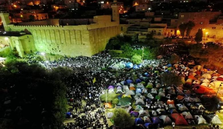 22 ألف مستوطن يستبيحون الحرم الإبراهيمي في الخليل