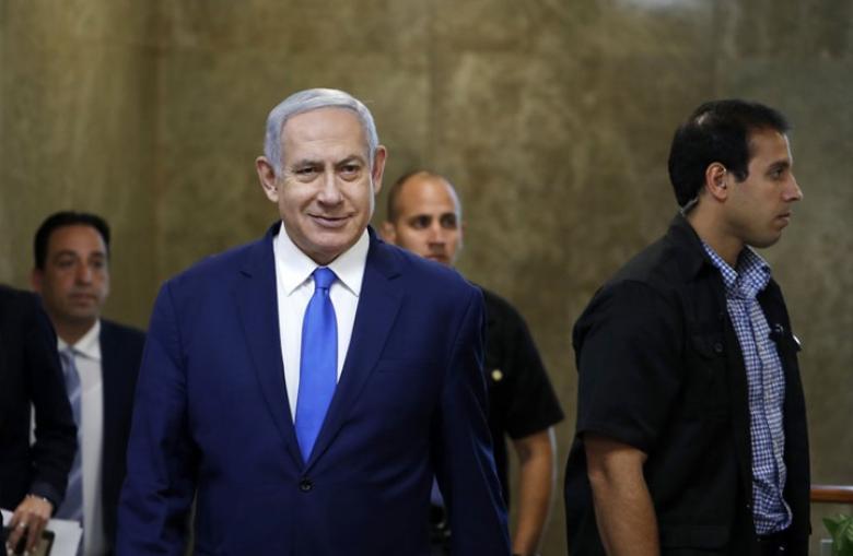 """ردا على تهديد نصرالله.. نتنياهو يلوح بـ""""ضربة ساحقة"""" للبنان"""