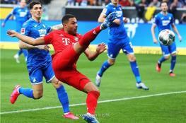 بايرن يفترس هوفنهايم في مباراة منقوصة