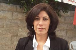 المجلس الوطني يدين اعتقال خالدة جرار