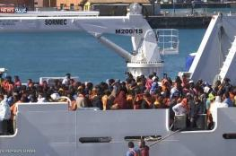 إنقاذ نحو 1400 مهاجر قبالة سواحل ليبيا