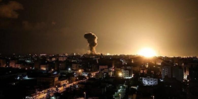 طائرات الاحتلال تستهدف موقعًا للمقاومة بعدة صواريخ
