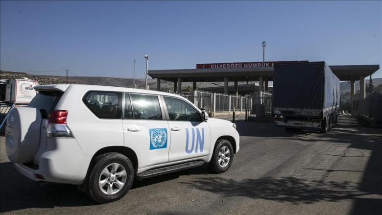 الأمم المتحدة ترسل 16 شاحنة مساعدات إلى إدلب