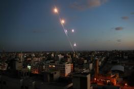 مفزاك لايف: حماس أطلقت ستة صواريخ تجريبية