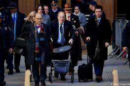 الحكم بسجن المنتج السينمائي الأمريكي واينستين 23 عاما