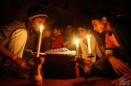 """أزمة الكهرباء تلقي بظلالها على طلاب """"التوجيهي"""""""