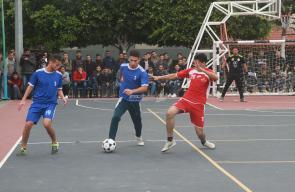 بطولة التضامن والعودة لخماسيات كرة القدم للجامعات في غزة