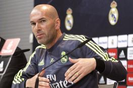 زيدان يكشف أسرار غرفة خلع الملابس في ريال مدريد