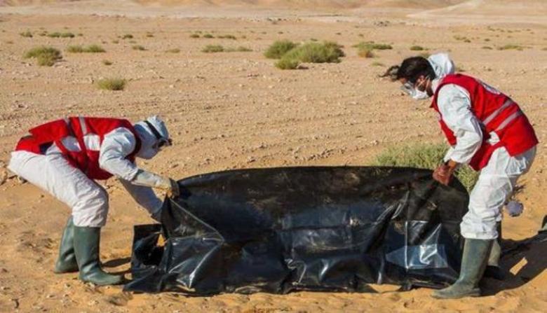 العثور على جثامين 13 مهاجراً مصرياً في ليبيا