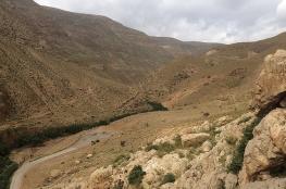 """أريحا .. """"نهر العوجا"""" أكبر عين فلسطينية بلا قطرة ماء"""