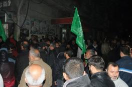 حماس تنظم وقفة احتجاجية على سياسة قطع الكهرباء بالبريج