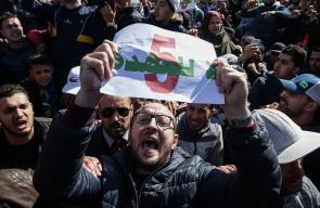 مظاهرات بمحافظات الجزائر ضد ترشح