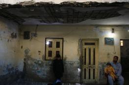 """""""الخواجا"""" بيت آيل للسقوط يهدد حياة 10 أفراد"""