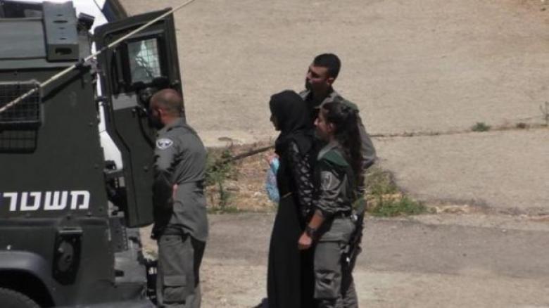 الاحتلال يعتقل فتاة بمنطقة باب العامود بالقدس