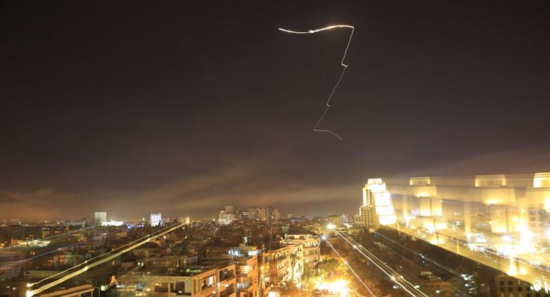 الدفاعات الجوية السورية تتصدى لعدوان إسرائيلي جديد