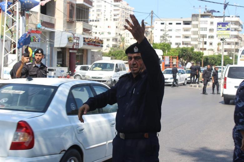 تنويه من شرطة المرور حول الطرق المغلقة في مدينة غزة اليوم