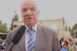 الإفراج عن مدير عام الأوقاف الإسلامية بالقدس المحتلة