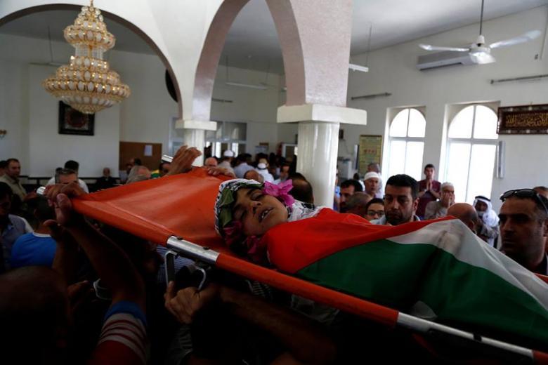 تقرير حقوقي: استشهاد 4 أطفال برصاص الاحتلال الشهر الماضي